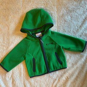 Columbia fleece hoodie
